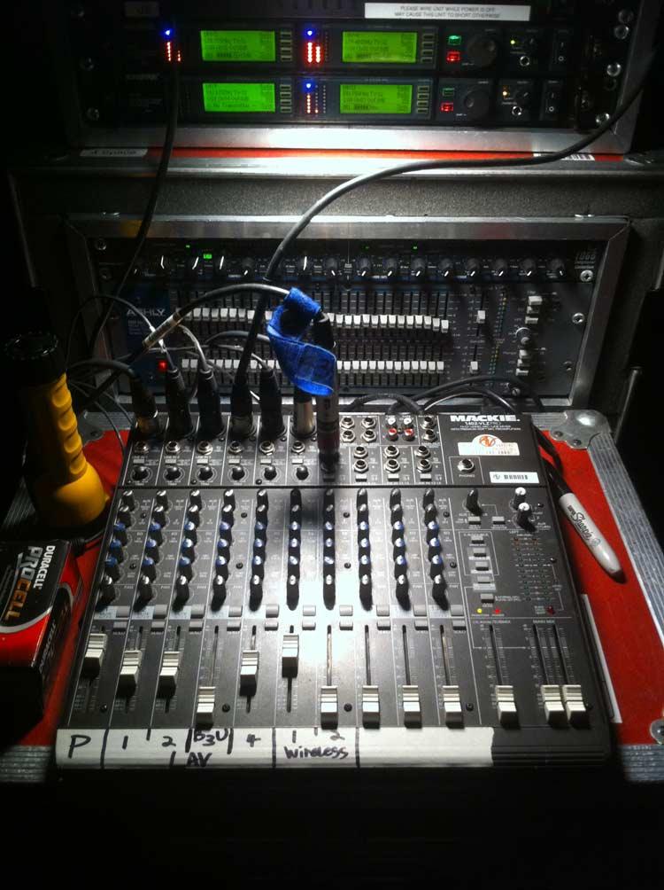 image of audio video equipment